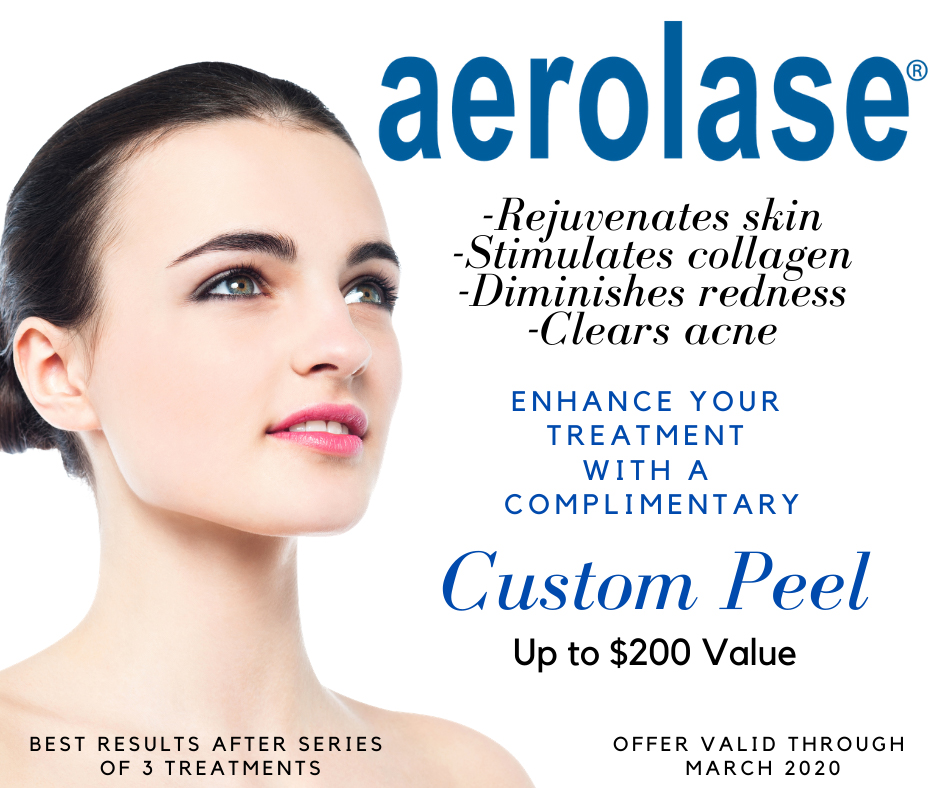 March 2020 Aerolase Promotion at New Life Aesthetics